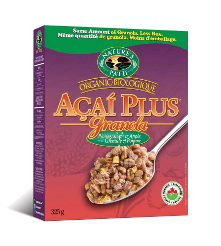 Nature's Path Organic Acai Apple Granola  Pomegranate