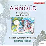 Arnold: Symphonies n° 3 & 4