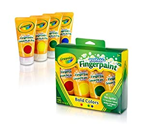 Crayola 4ct Washable Fingerpaints Secondary