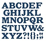 We R Memory Keepers Jump Rope 4-Inch by 4-Inch Alphabet Die