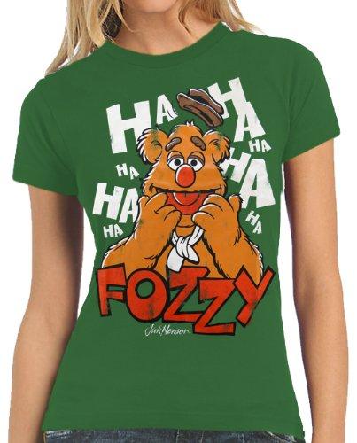Muppets - Logoshirt Fozzy Vintage T-Shirt ragazza XS-L