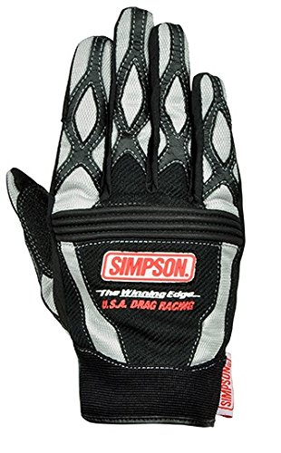シンプソン(SIMPSON) メッシュグローブ GRAY LL SG-5154