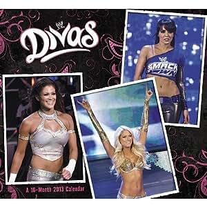 (11x12) WWE Divas - 16-Month 2013 Wall Calendar