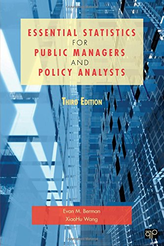 Essential Statistics for Public Managers and Policy Analysts PDF