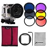 XCSOURCE� Adaptateur 58mm + 6 filtres...