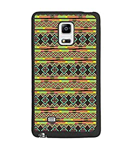 PrintDhaba Pattern D-5234 Back Case Cover for SAMSUNG GALAXY NOTE EDGE (Multi-Coloured)