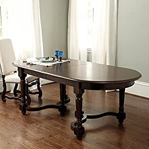 Capistrano extension dining table 120 inch for Dining room tables on amazon
