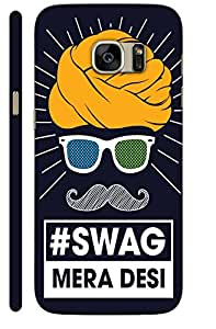 Aatank Premium Printed Mobile Case Back Cover for Samsung Galaxy S6 Edge