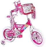 Barbie Girl's 12-Inch Bike, Pink/White