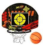 NERF Indoor Basketball & Target Set -...