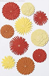 Martha Stewart Crafts Stickers, Dimensional Dahlia