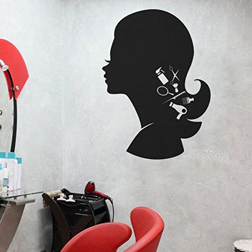 schnes-mdchen-adesivo-capelli-utensili-da-taglio-parete-decorazione-f-s-r-parrucchiere-vinilico-cust