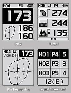 GolfBuddy GB-WT3 Golf GPS/Rangefinder Watch Black