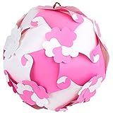 Ravi Creations Plastic Diwali Lamp - RC-44, Pink & White, 18 Cm X 18 Cm X 18 Cm