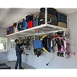 SafeRacks - 4x8 Overhead Garage Storage Rack Heavy Duty (24
