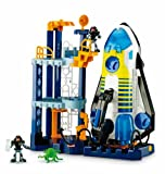 Fisher Price W8586 Imaginext Space Shuttle and Tower Playset