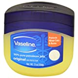 Vaseline 100% Pure Petroleum Jelly, 13-Ounce Jars (Pack of 3)