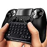 DLAND PS4ワイヤレスミニゲーム用キーボードBluetooth(ブラック)