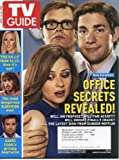 TV Guide April 14, 2008 Jenna Fischer & Rainn Wilson & John Krasinski/The Office, The Hills, American Idol, Kim Catrall & Daniel Radcliffe Interview