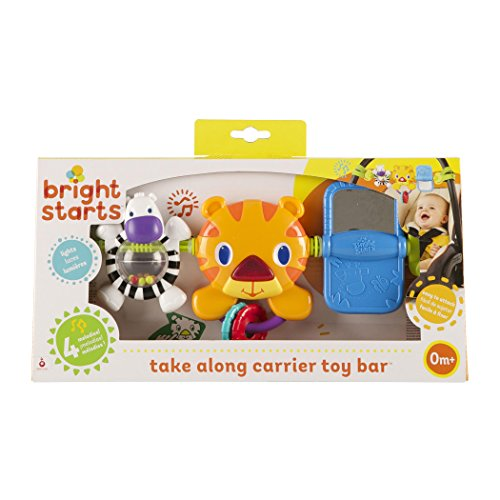 bright starts take along toy bar for baby car seats carriers cheap baby stuff. Black Bedroom Furniture Sets. Home Design Ideas