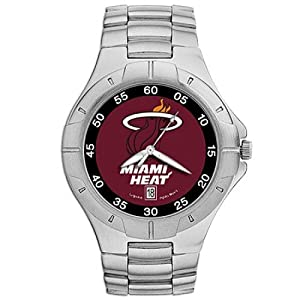 NSNSW22831Q-Miami Heat Watch - Mens Pro Ii Nba Sport by NBA Officially Licensed