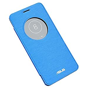Acm S-View Smart Interactive Flip Case For Asus Zenfone 5 Mobile Flap Front & Back Cover- Blue