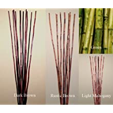 Green Floral Crafts Natural River Cane 4.5 Ft - Variety of colors