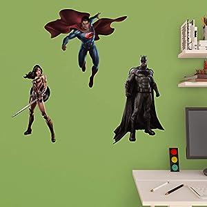 DC Batman Vs. Superman Fathead Jr. Collection at Gotham City Store