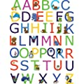 Brewster Spirit 350-0099 Peel & Stick ABC European Wall Decals