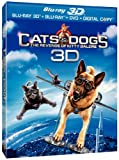 Cats & Dogs: The Revenge of Kitty Galore (Three-Disc Combo: Blu-ray 3D / Blu-ray / DVD / Digital Cop