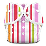 Thirsties Duo Diaper Snap Warm Stripes Size Two
