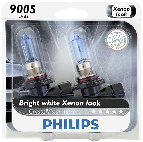Philips 9005 CrystalVision Ultra Upgrade Headlight Bulb, 2 Pack (Corolla 96 Headlight compare prices)