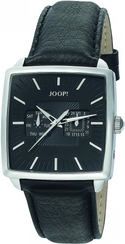 Joop Men's Quartz Watch Vibes Gents JP100641F01 with Leather Strap