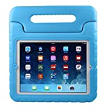 iPad 2 Kids Case : Stalion® Safe Shockproof Protection for Apple iPad 2/3/4 (2nd, 3rd, & 4th Gen)[Lifetime Warranty](Berry Blue) Kid Proof + Ultra Lightweight + Comfort Grip Carrying Handle + Folding Stand