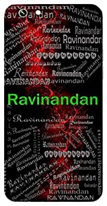 Ravinandan (Son Of Sun ( Karna )) Name & Sign Printed All over customize & Personalized!! Protective back cover for your Smart Phone : Samsung Galaxy A-7