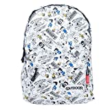OUTDOOR Peanuts Snoopy Nylon Backpack from Japan (Color: colorful, Tamaño: 310 × 430 × 130mm)