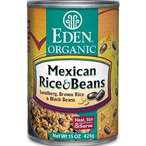 Amazon.com : Eden Organic Mexican Rice & Beans, 15-Ounce