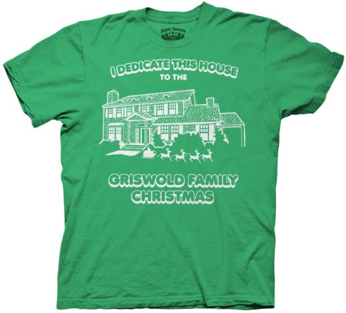 Griswold Christmas Vacation T-Shirt, Green, S
