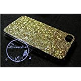 "ORIGINAL iProtect Iphone 4 Highend Glitter / Strass Case in Gold Hardcase Case Taschevon ""iprotect"""