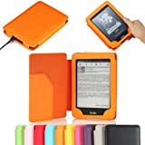"MoKo Cover Case for Amazon All-New Kindle Paperwhite (Both 2012 and 2013 versions with 6"" Display and Built-in Light), ORANGE (With Smart Auto Sleep/Wake feature)"