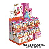 (Kinder Display With 16 units)  - Kinder Joy With Surprise Inside - Sold by ICSTORE (GIRLS Display W/ 16)