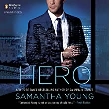 Hero (       UNABRIDGED) by Samantha Young Narrated by Angelica Lee