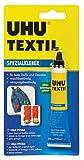 UHU Spezialkleber für Textilien, 20 g in Tube, 48665
