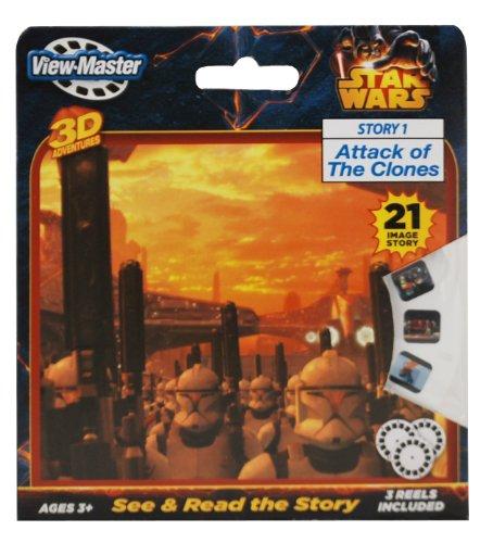 Basic Fun ViewMaster Star Wars 3 Reel Set - 1