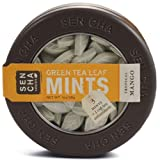 Sen-Cha Green Tea Leaf Mints - Tropical Mango Flavour 28g (Pack of 3)
