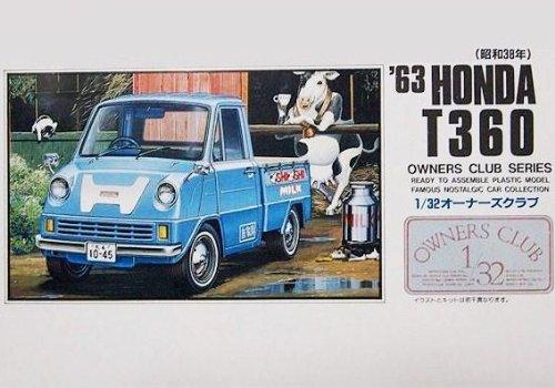 【30%OFF】1/32 オーナーズ '63 ホンダT360