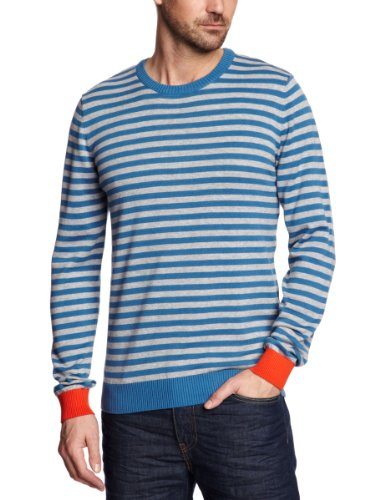 esprit 033EE2I006 Men's Jumper Ocean Blue X-Large