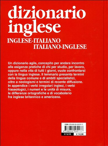 Libro dizionario inglese inglese italiano italiano for Traduzione da inglese a italiano