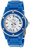 Juicy Couture Round White Dial Blue Steel Case Ladies' Fashion Watch