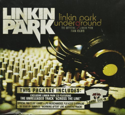 Linkin Park Underground 9 Fan Club (Box Set with Demos CD, T-Shirt, Patch, Letter, and Guitar Pick)